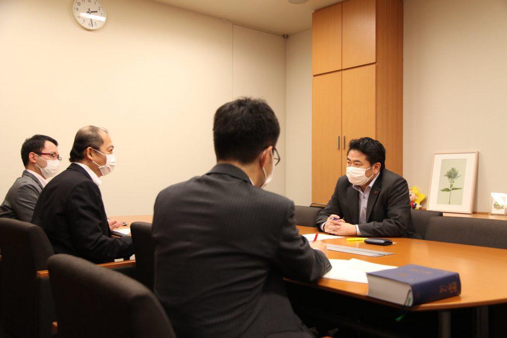 「コロナ禍(新型コロナウイルス感染症の拡大)」を「災害(異常な自然現象)」とみなすことについて、内閣府と内閣法制局から話を聞きました