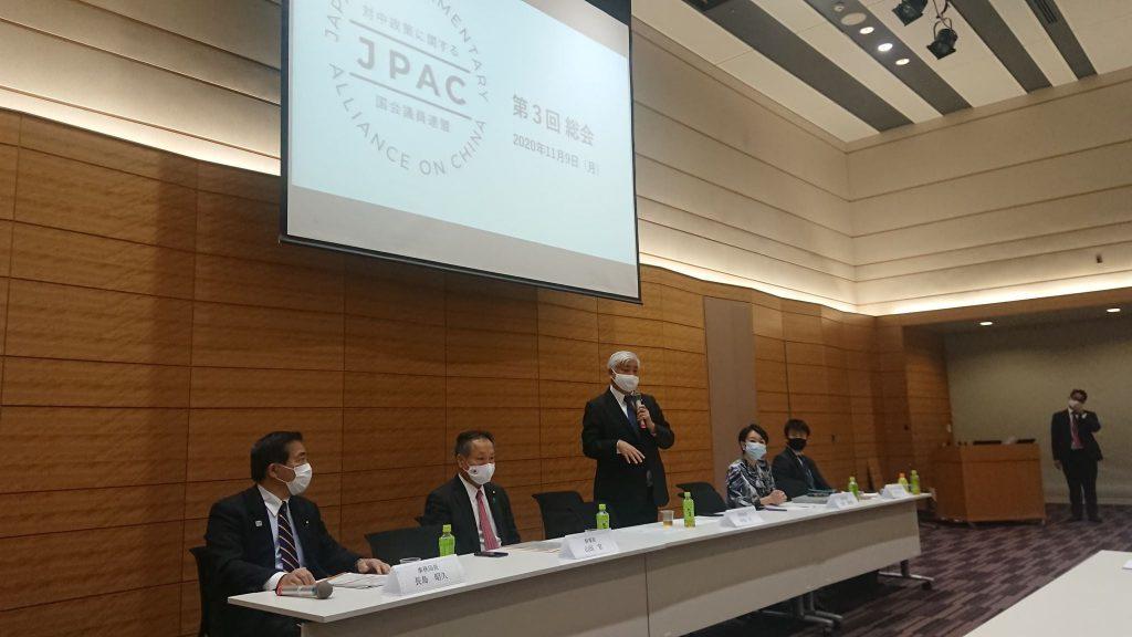 議員立法で提出をめざす「特定人権侵害問題への対処に関する法律」(日本版「マグニツキー法」)について議論しました