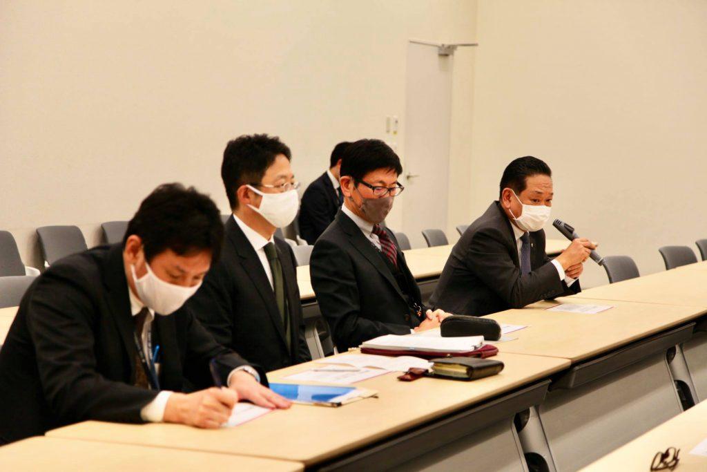郵便法改正について 日本郵便(株)の諌山副社長とJP労組の増田委員長 石川書記長からお話を伺いました1