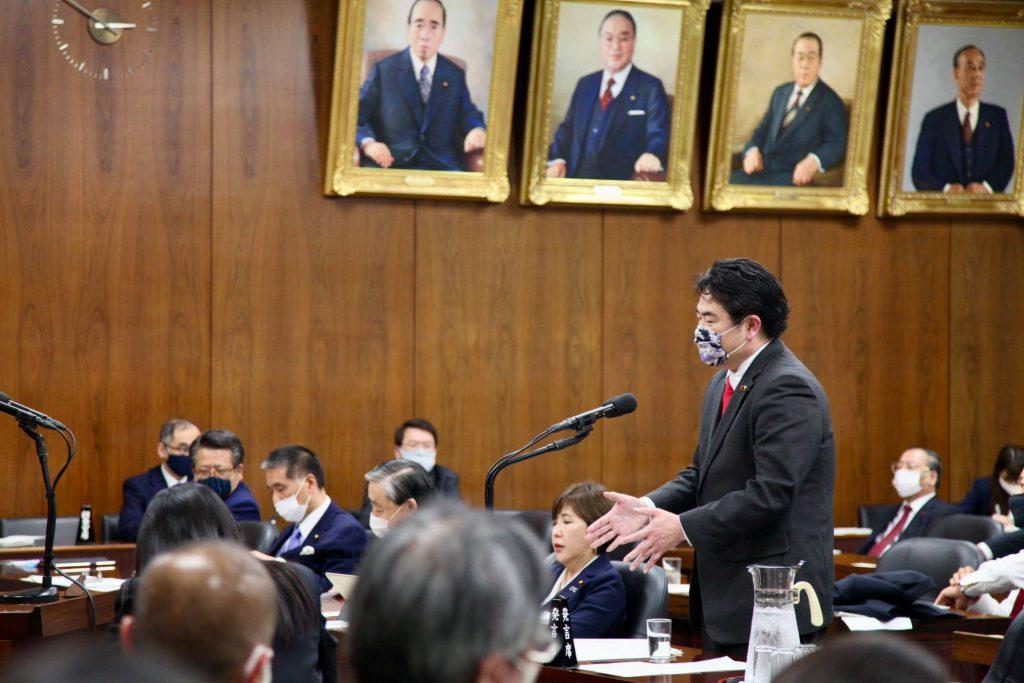 上川陽子法務大臣へ法務委員会で「国会で決まった法解釈を政府が勝手に変えていいのか?」質問しました2