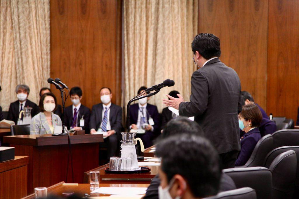 三原じゅん子厚生労働副大臣に新型コロナウイルス感染症対策の「小学校休業等対応助成金」の改善を求めました2