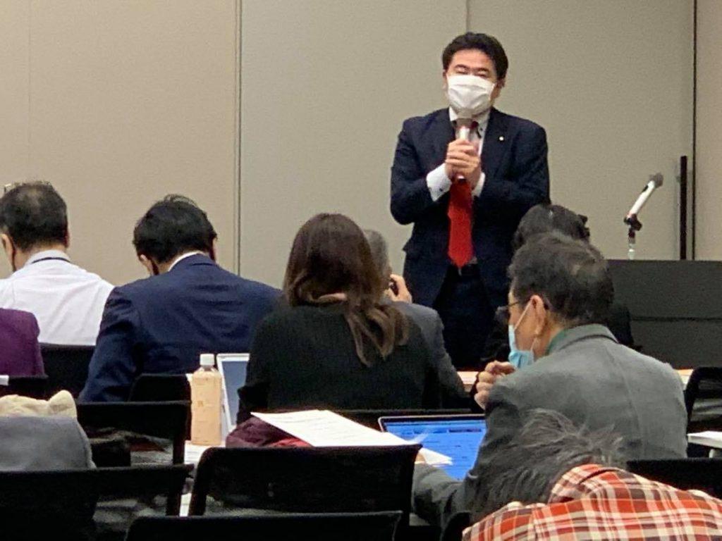 「全国空襲被害者連絡協議会」の総決起集会に出席し、来賓として挨拶させていただきました2