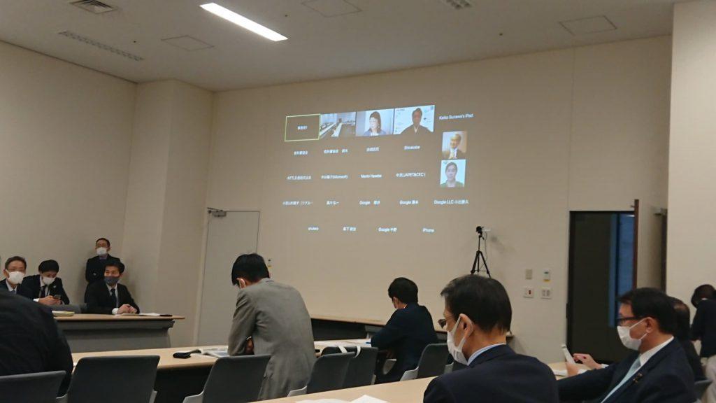 超党派「教育における情報通信(ICT)の利活用促進をめざす議員連盟」総会が開催され、幹事として出席しました2