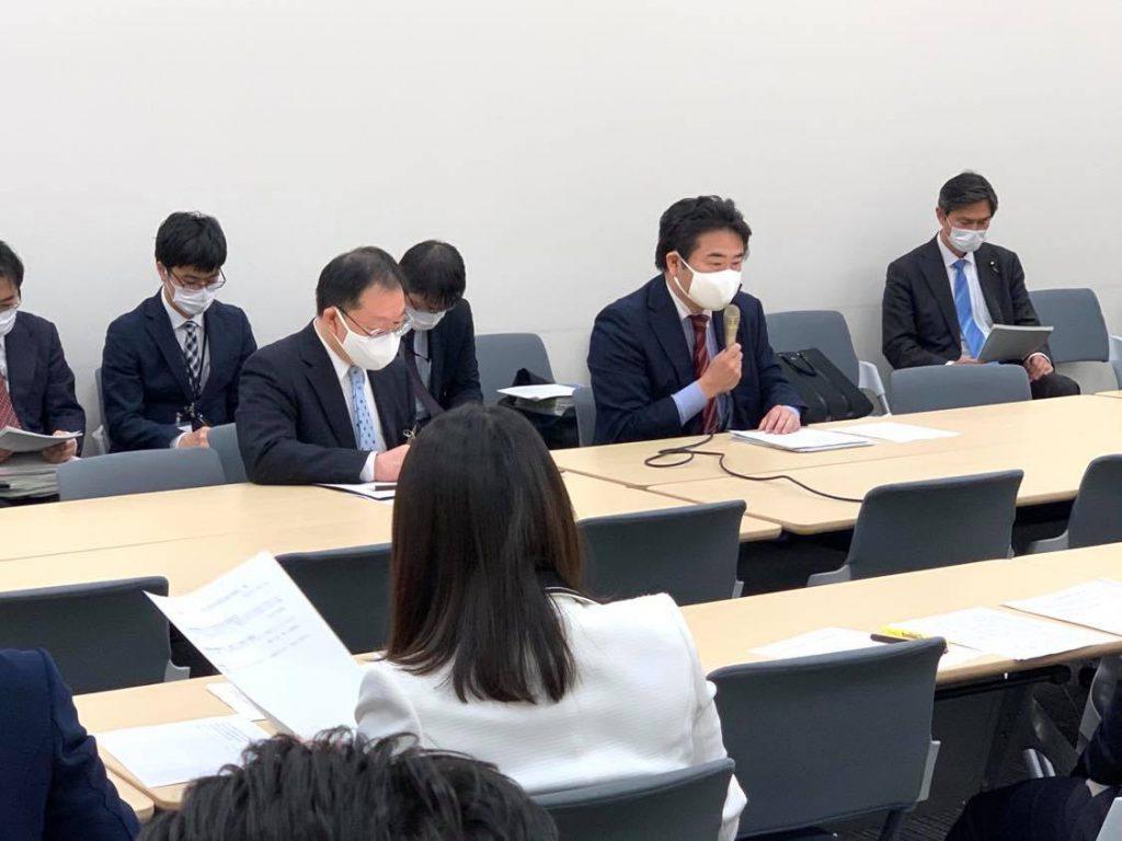 玉木雄一郎国民民主党代表からの指示で急きょ「新型インフルエンザ対策特別措置法」等の改正案づくりを担当することになりました2
