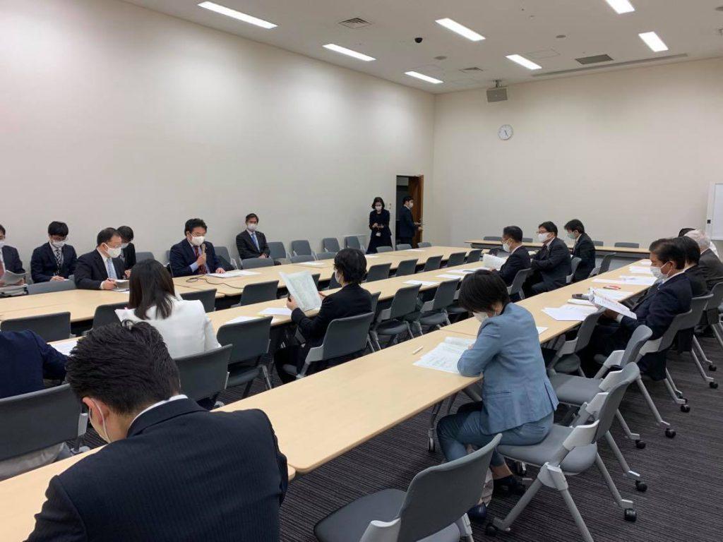 玉木雄一郎国民民主党代表からの指示で急きょ「新型インフルエンザ対策特別措置法」等の改正案づくりを担当することになりました1