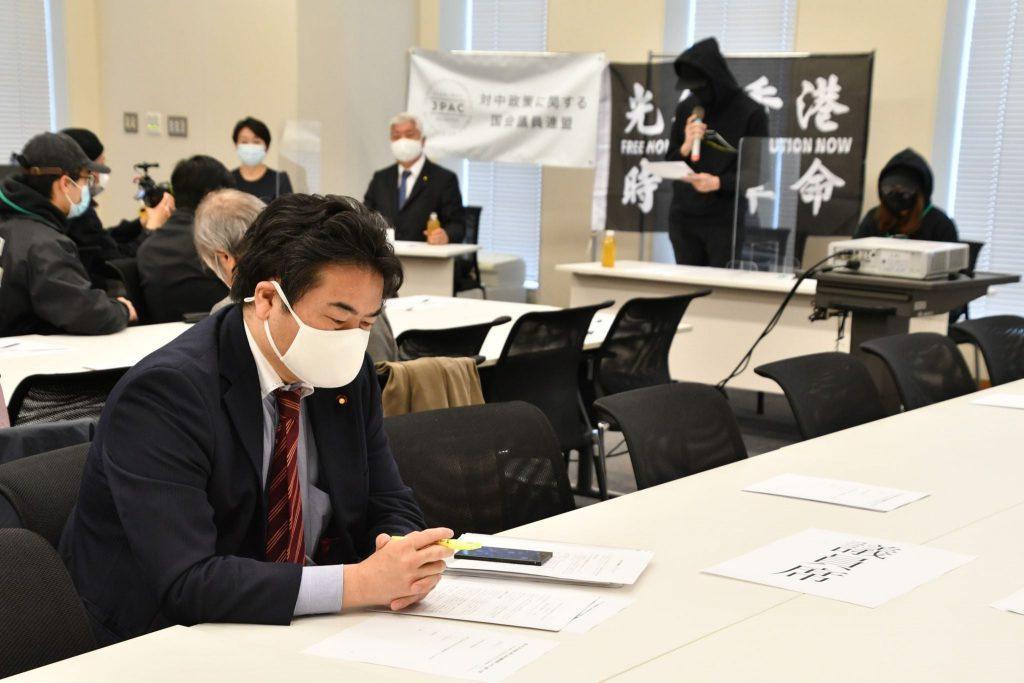 中谷元(自民)山尾志桜里(国民民主)両衆議院議員が共同代表の「対中政策に関する国会議員連盟(JPAC)」に出席しました03