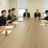昨日の維新・民主「政策調整会議」の模様が、NHK夜7時のニュースに取り上げられたようです