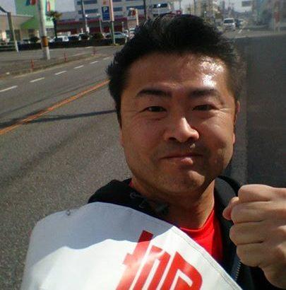今朝もいつもの旧国道2号線沿いを8km走りました
