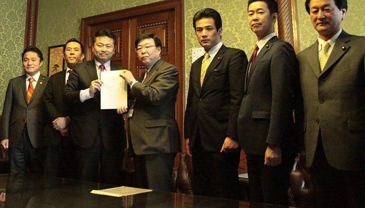 3月25日、維新の党と民主党は共同で「政官接触記録法案」を提出いたしました