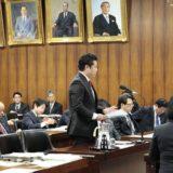 3月16日と25日の内閣委員会において、菅官房長官、河野行政改革担当大臣、横畠内閣法制局長官に質問しました