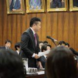 内閣委員会で「子ども医療費の無料化」について、太田房江厚生労働政務官に質問しました