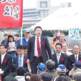 「第5回岡山城・後楽園カヌー駅伝全国大会」の開会式に出席しました