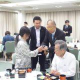 小野次郎参議院議員が来岡されたので、後援会の皆さんにお声かけして、昼食会を行いました