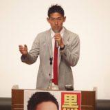 本日、南ふれあいセンターで開催した「黒石健太郎演説会」は、立見が出るほどの大盛況でした
