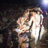 岡山市民会館での黒石健太郎総決起集会。1200名の皆さんが集まってくださいました。