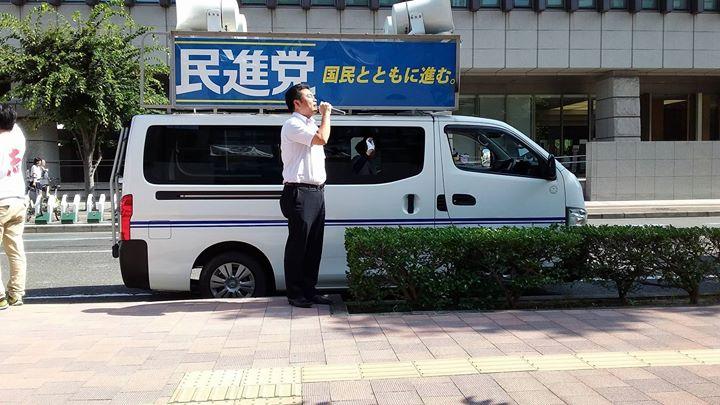 7日(木)は、終日「政策宣伝カー」で岡山1区(岡山市北区・南区)を走りました