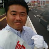 参議院選挙中は封印していた辻だちを再会しています。昨日は野田交差点、本日は十日市交差点。