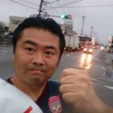 岡山は台風が迫っておりますが、10km走りました