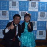 岡山武道館で開催されたライブイベントのオープニングで、タレントの女の子と一緒に、岡山の国会議員を代表して挨拶させてもらいました