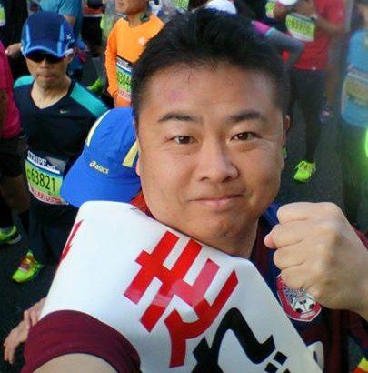 岡山マラソンいよいよスタートです!42.195kmの完走を目指して頑張ります!