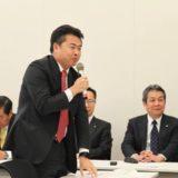 民進党「郵政議員連盟」総会が開かれ、幹事の役を拝命いたしました