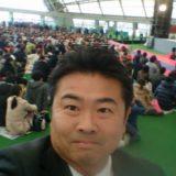 ファジアーノ岡山のファン感謝祭に来ています