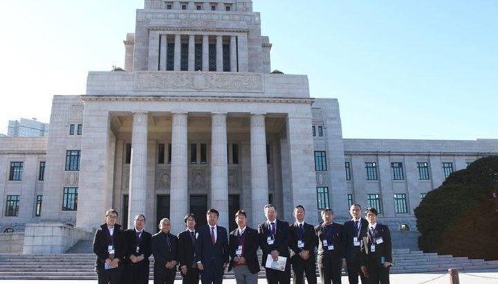 国会見学に来られたJP労組岡山支部の皆さんをご案内させていただきました