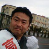 週末の「マラソン街宣」は県道児島線を25km走りました