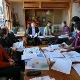 毎月1回、後援会副会長のご自宅で開催している「美女美男の会」