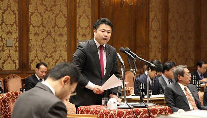 予算委員会で質問に立ちました