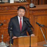 衆議院本会議で民進党を代表して質問を行いました