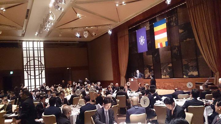 「全日本仏教会」が主催する「仏教懇話会 朝食会」に出席しました