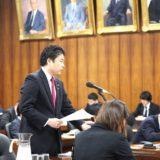 内閣委員会で、公文書管理の観点から、「森友問題」に関して質問しました