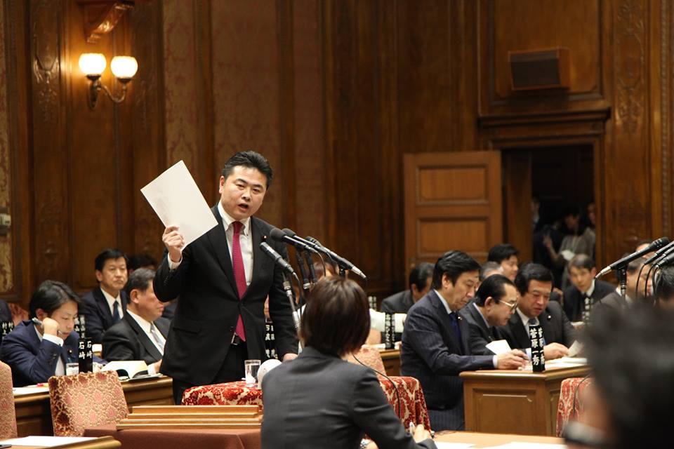 予算委員会で質問に立ちました。