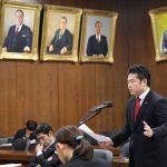 予算委員会で「東シナ海のタンカー沈没事故の影響」について質問しました