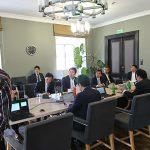 【ヨーロッパ視察(その10)】  国家選挙事務所(日本の中央選挙管理委員会に相当)を訪問し、電子投票についての話を伺いました。