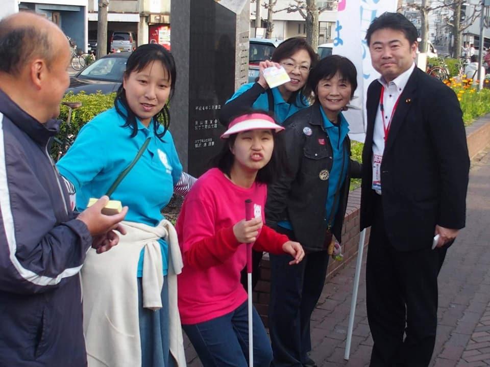 毎月第一日曜日は京橋朝市からスタート