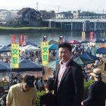毎月第一日曜日恒例の「京橋朝市」