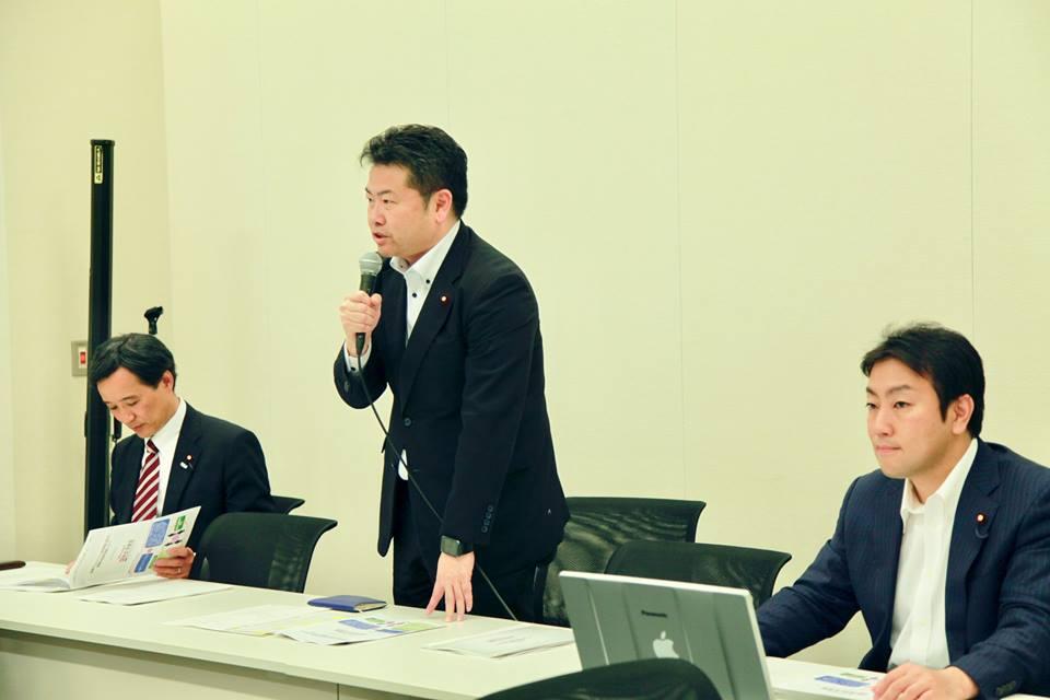 立憲民主党「科学技術・イノベーション議員連盟」第3回勉強会を開催しました。