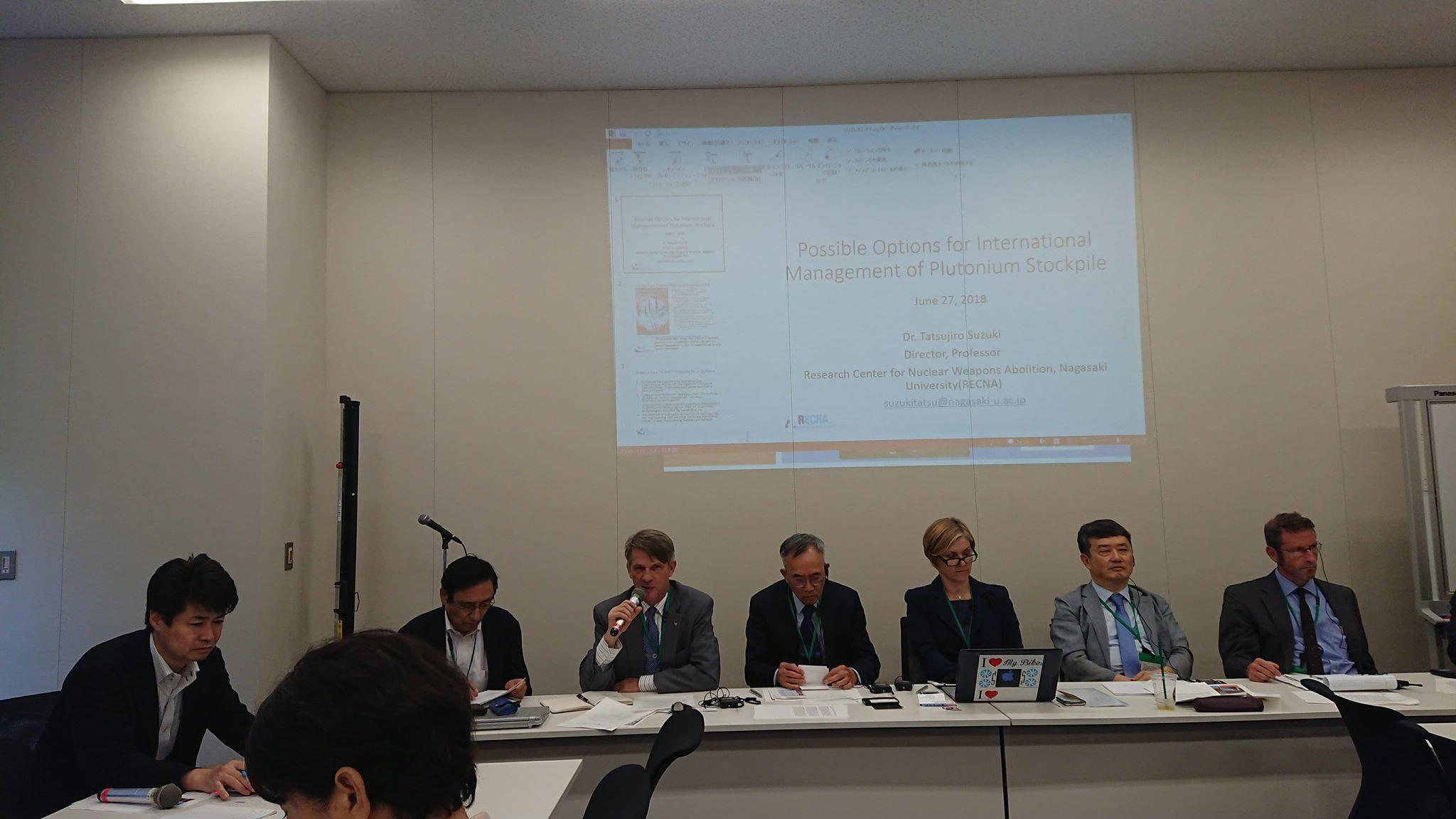 「日米原子力協定と核燃サイクル、アジアの核不拡散政策に関する米韓日有識者との意見交換会」に出席しました。