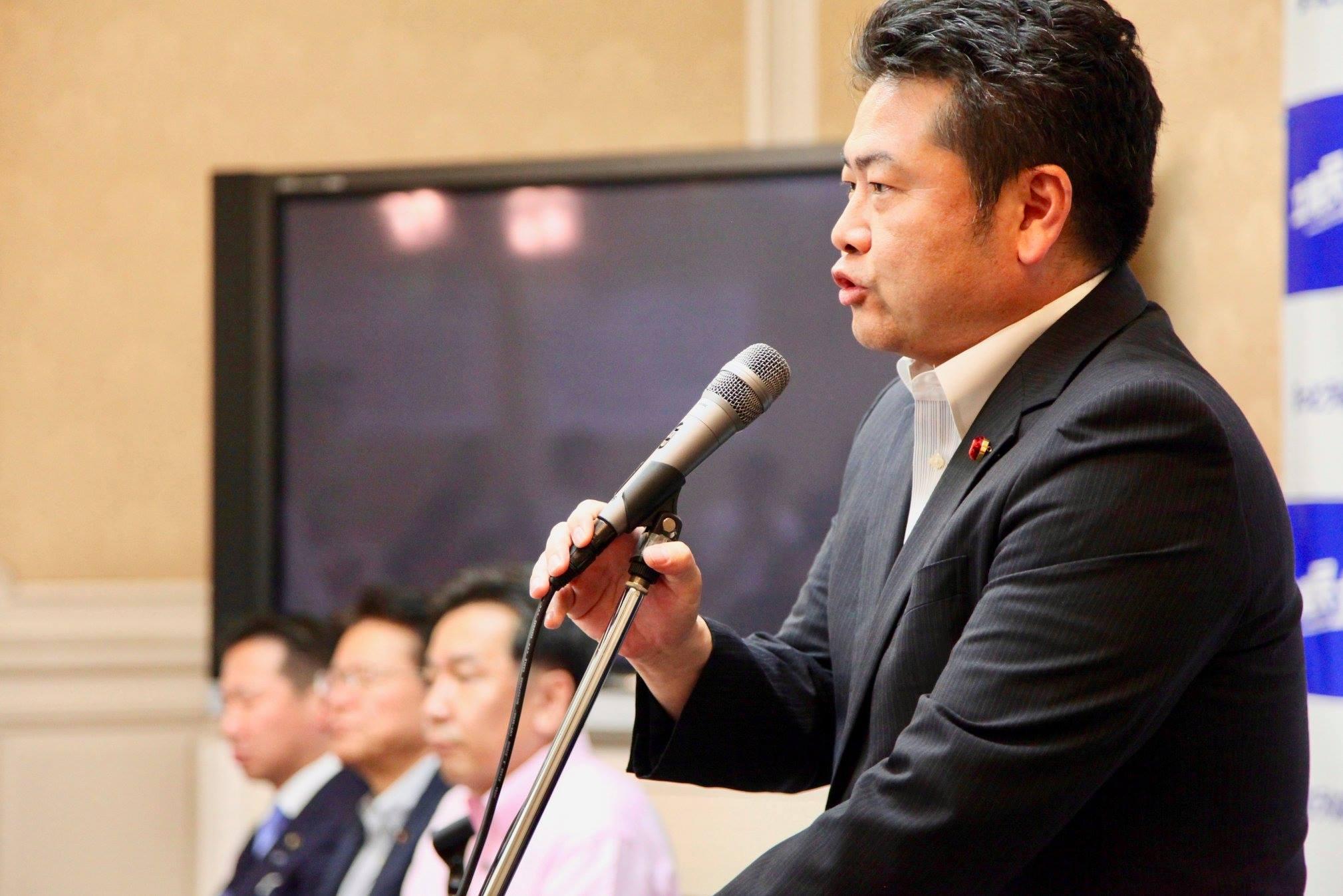 衆議院本会議に出席するため、久しぶりに上京