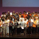 岡山アコーディオンクラブ主催の「桧山武雄と歌おう」へ参加させてもらいました。