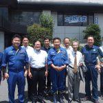 立憲民主党の枝野幸男代表とともに被災地を訪問しました。