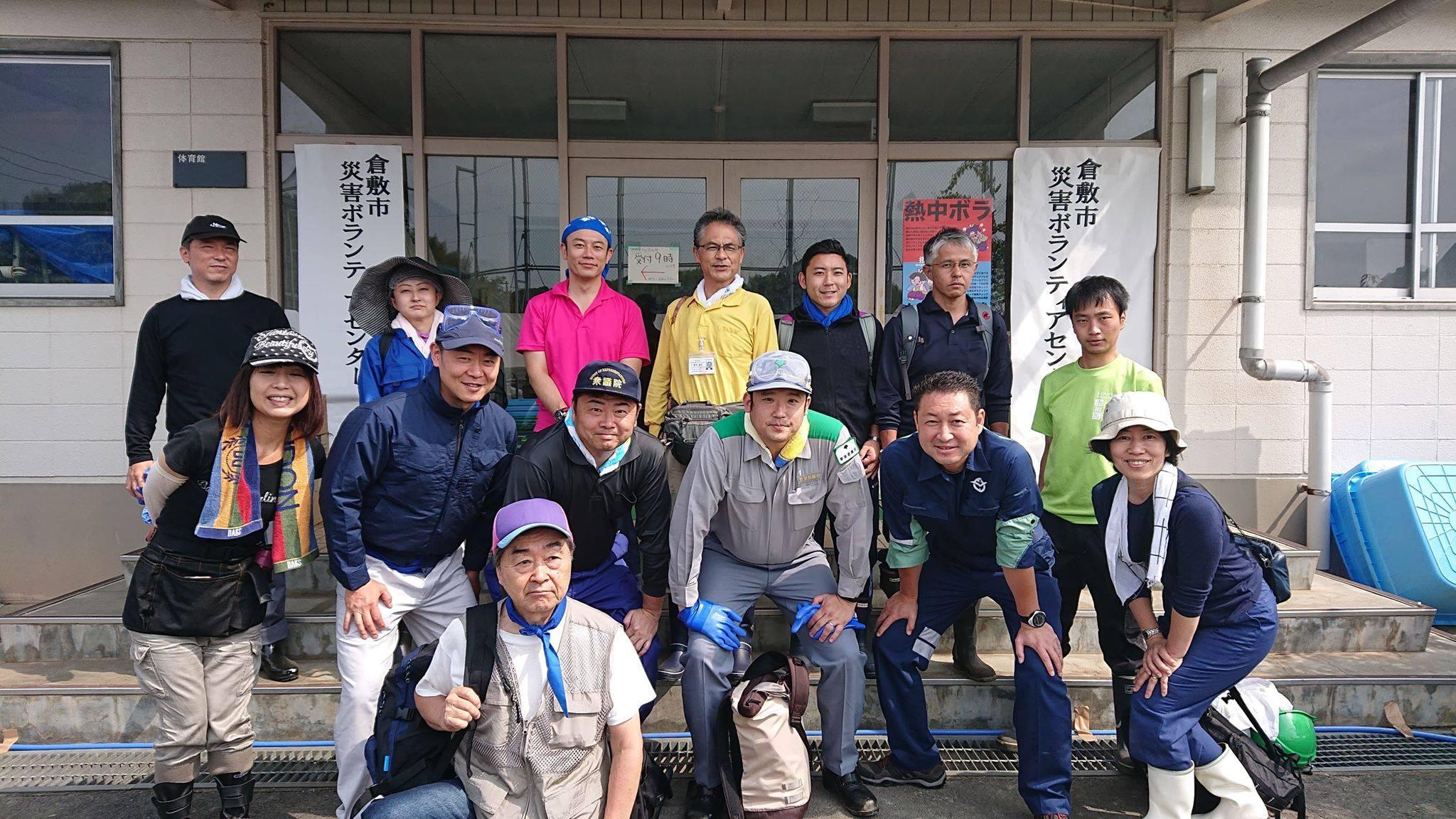 立憲民主党東京都連の精鋭13名が、夜行バスに乗ってボランティアに駆け付けてくれました。