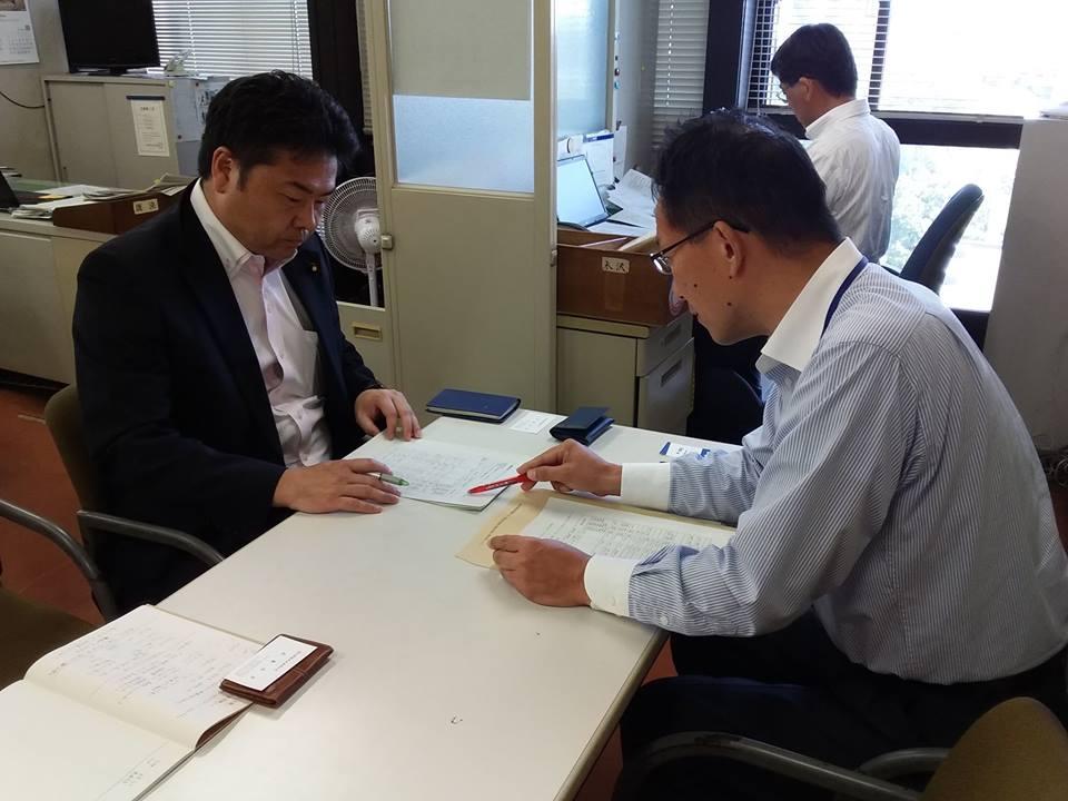 本日は始発の新幹線で帰岡し、昨日政府からヒアリングした結果を岡山県庁へ報告してきました。