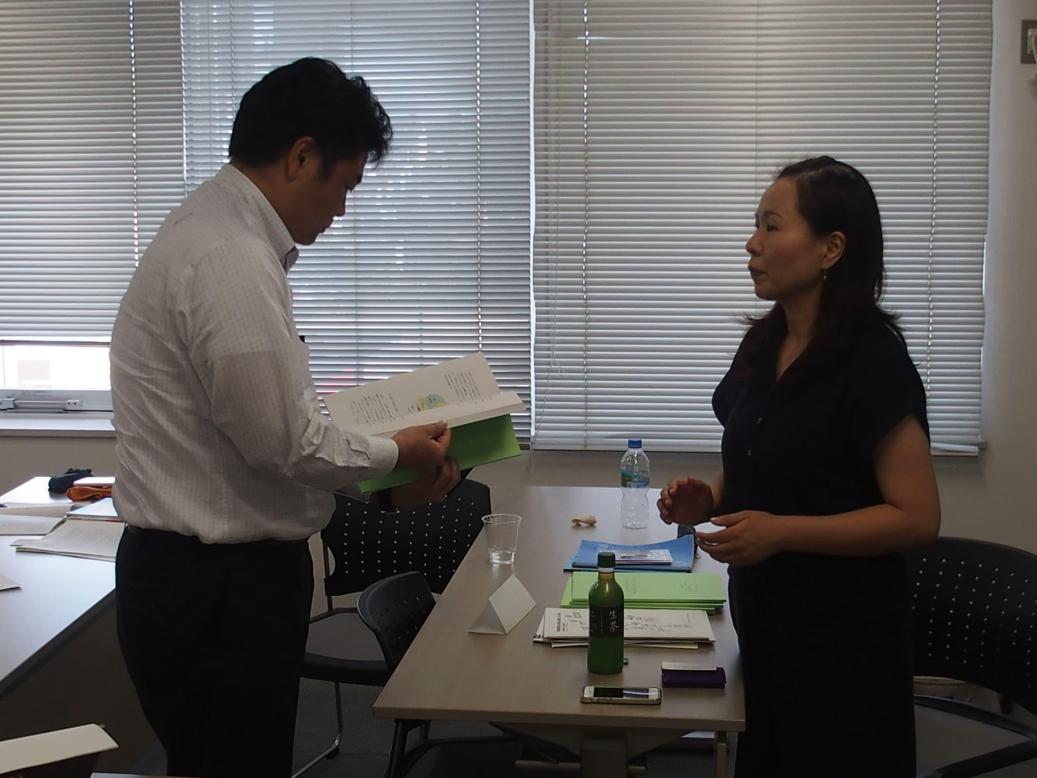 東日本大震災の避難者支援に取り組む「一般社団法人ほっと岡山」が主催する、被災者支援団体向けの研修会に参加しました。