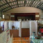 現在、岡山県内の避難所68ヵ所に733世帯2336名が避難生活を送っています。