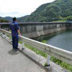 高梁川上流の河本ダム(管理者:岡山県)と新成羽川ダム(管理者:中国電力)を見てきました。