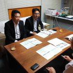 京橋朝市30周年の懇親会で、伊原木岡山県知事と席が隣だったことから、今回の西日本豪雨災害について、いろいろと意見交換しました。