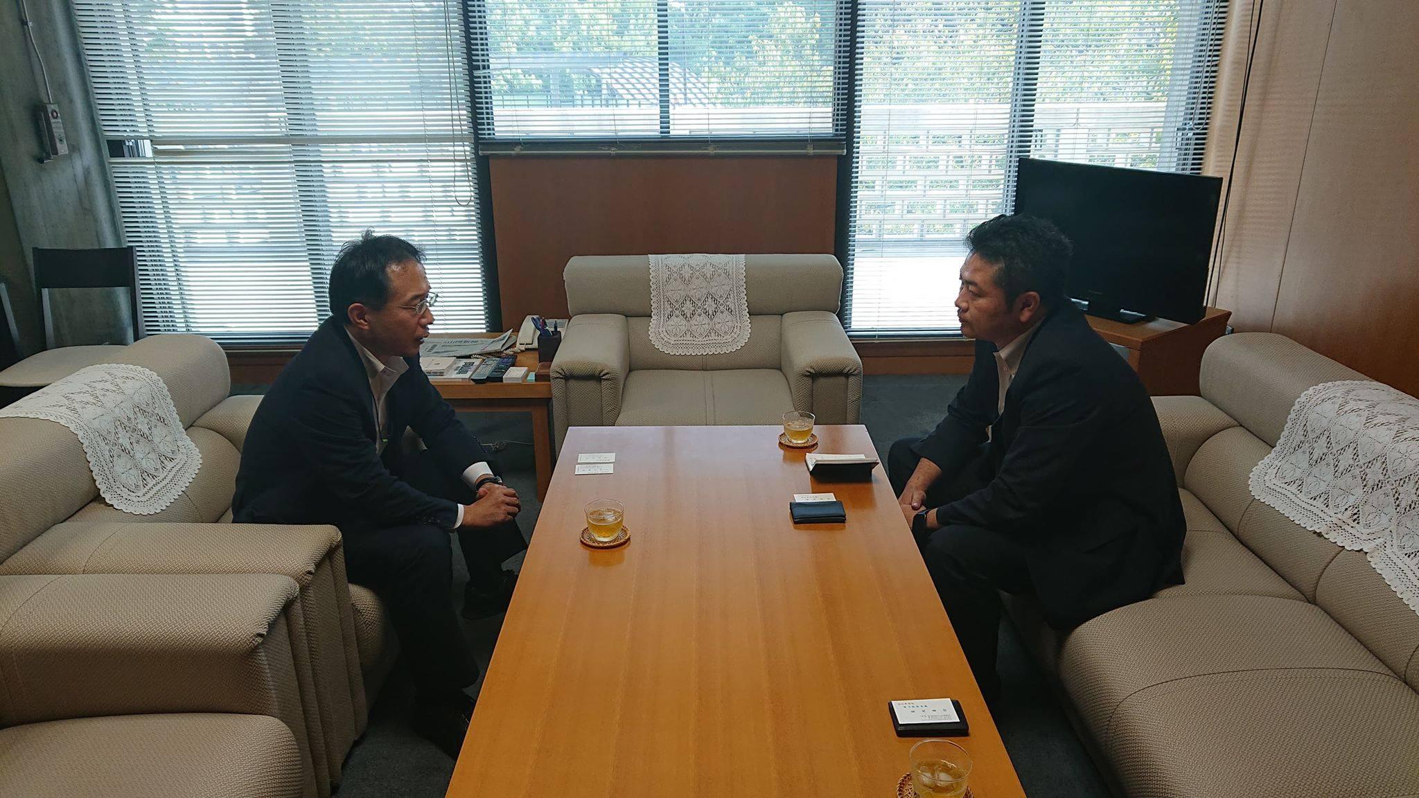 岡山県の菊池善信副知事を訪ね、被災者や被災自治体から寄せられた切実な声をお伝えしてきました。